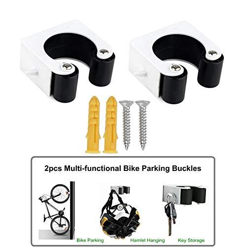 Fahrradparkschnalle Horizontaler Fahrradwandhalter An der Wand montiert Aufbewahrungsgestell für Fahrradhakenhalter Fahrradständer für den Innenbereich Tragbarer Fahrradhalter für Mountainbike Indoor