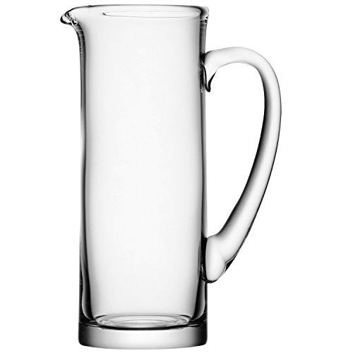 LSA Basis Jug Clear 52.8oz / 1.5ltr   Handmade Glass Jug, Glass Pitcher, Cocktail Jug, Cocktail Pitcher, Pimm'S Jug