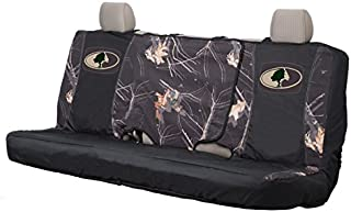 Mossy Oak Camo Bench Seat Cover, Bench-Seat Cover with Fold-Away Center Console Access, Water Resistant Polyester