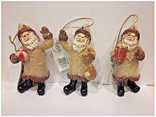 SH Babbo Natale Pupazzo per Albero Idea Regalo ADDOBBI DECORI Natalizi Prezzo Stock
