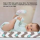 Bestlle - Juego de 2 fundas para cambiador de pañales ajustables ultra suaves para bebés y niños