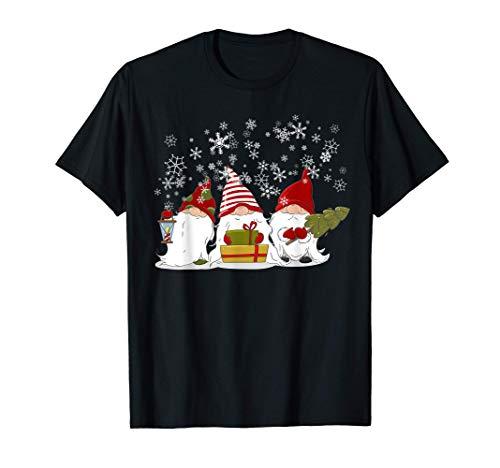 Gnomo de Navidad nórdico Gnomos Elfos Suecia Regalo Camiseta