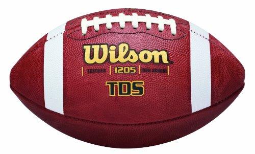 WILSON Lederfußball, traditionell, Offiziell, Einheitsgröße