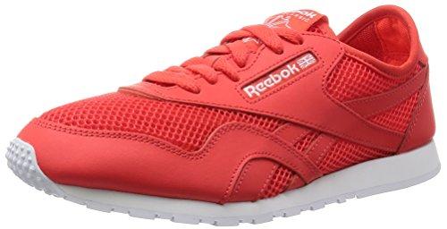 Reebok Damen Classic Nylon Slim Mesh Laufschuhe, Rot (Laser Red/Atomic Red/White), 38 EU