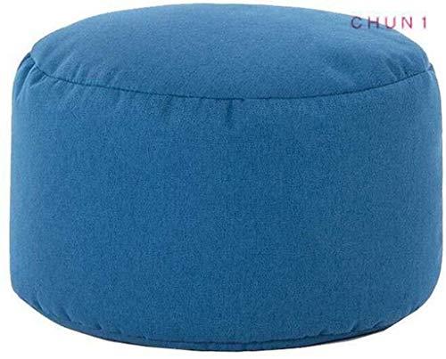 """CHU N1 Bean Bag Pouf Runde, maschinenwaschbar Abdeckung Start Waren Innen 13.8\"""" L X 13.8\"""" W X 8.7\"""" H (Size : 5)"""