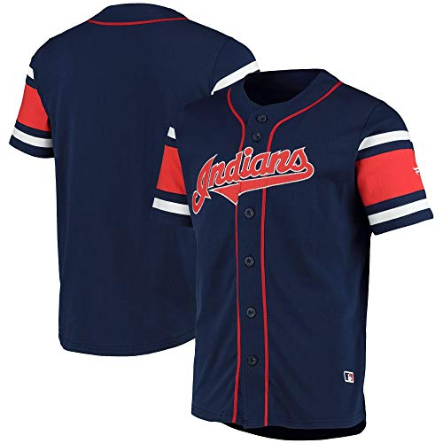 Fanatics Cleveland Indians MLB Cotton Supporters Jersey - L