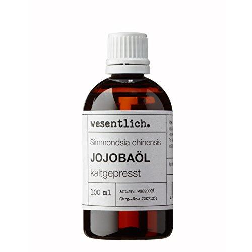 Jojobaöl kaltgepresst 100ml - reines Öl (Simmondsia chinensis) von wesentlich.