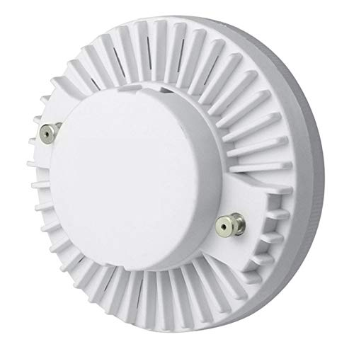 PARA DORMITORIO 100 FT 4pcs GX53 LED Lámpara 11-12W Armario Lámpara De Iluminación De La Pared Del Gabinete 85-265V CE (Color : 12WWhite)