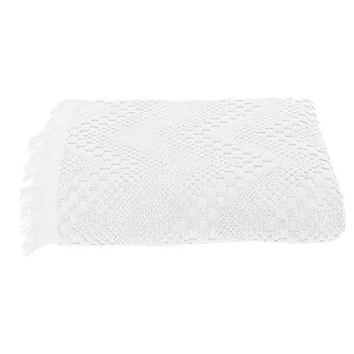 Garnier-Thiebaut BOHEME Drap de Douche, Coton, Blanc, 70 x 140 cm