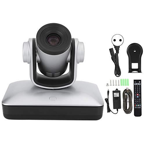Weiyiroty CáMara de la Sala de Conferencias, Zoom óPtico 10X CáMara HD, 1080P Alta DefinicióN Externo CáMara de Videoconferencia con Mando a Distancia para Salas de Reuniones de Negocios(yo)