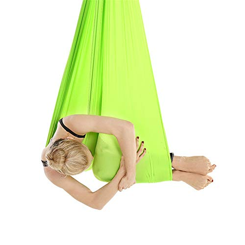 Best Review Of Jdeepued Yoga Hammock Yoga Hammock Aerial Stretch Yoga Gym Fitness Stretcher Home Ind...