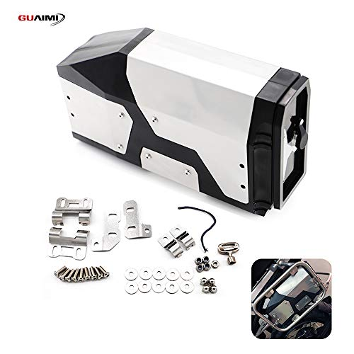 GUAIMI Werkzeugbox wasserdicht Werkzeugkasten Kompatibel mit Original Kofferträger R1250GS/ R1250GS Adventure/ R1200GS/ R1200GS