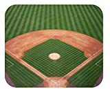 Mouse Pad Universe Beautiful Photo Mouse Pads & Unique Designs – Decorative & High Performance – 2 Sizes – Thick Natural Rubber, No Slip Base (Mini 8 x 6 x 1/8', Baseball Diamond)