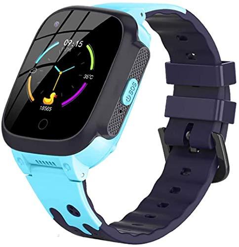 Reloj infantil de teléfono de videollamada antipérdida WIFI GPS Tracker de seguridad salud impermeable 4G niños reloj inteligente con cámara