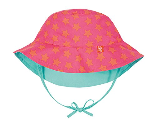 Lässig 1433005805 Baby Sun Protection Bucket Hat Sonnenhut, Stars, Size: New Born 0-6 Monate, mehrfarbig