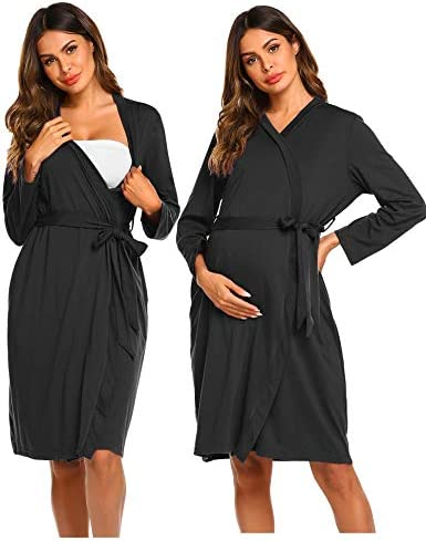 Top 10 Best pregnancy robe for hospital Reviews
