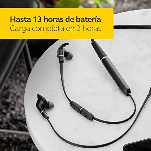 Jabra Evolve 65e MS & Link 370 Auriculares para móvil Binaural Banda para Cuello Negro