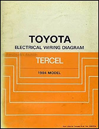 1984 toyota tercel wiring diagram manual original toyota amazon Honda Civic Wiring Diagram