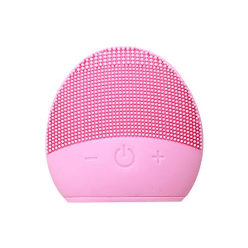 Cepillo De Limpiamiento Facial, Limpiador Facial Impermeable Del Silicio Y Sistema De...