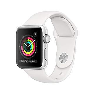 AppleWatchSeries3 (GPS) concaja de 38mm de aluminio enplata ycorrea deportiva, Blanca (B07HKTJG2R) | Amazon price tracker / tracking, Amazon price history charts, Amazon price watches, Amazon price drop alerts