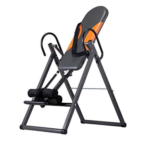 Best Price ZDMSEJ Exercise Fitness Inversion Table Inverted Table Perfectly Balanced Gravity Trainer...