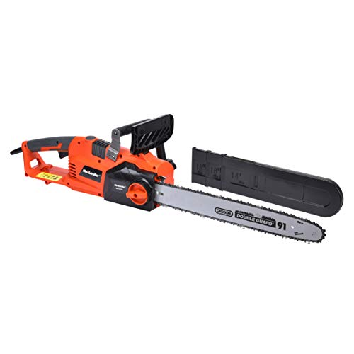 MaxLander Electric Chainsaw 15Amp Corded Chainsaw15m/s Driect Drive with 18 Inch Chain and Bar Tool Less Chain TensionProfessional Powerful Fast Cut