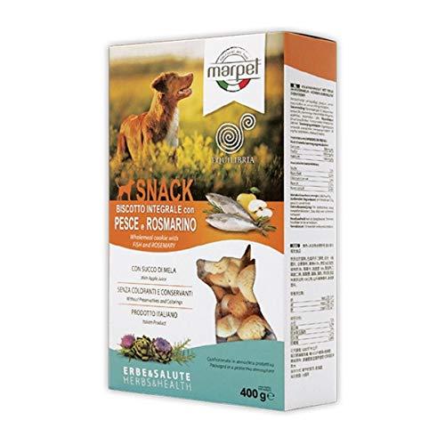 Marpet - Equilibria Snack Biscotti Integrali con Pesce e Rosmarino per Cani 400 g