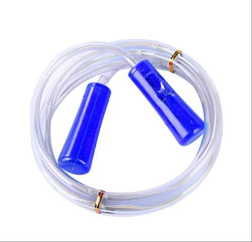Professionelles Springseil mit LED-Beleuchtung, leuchtet im Dunkeln, für Männer und Frauen, 2,5 m, Blau