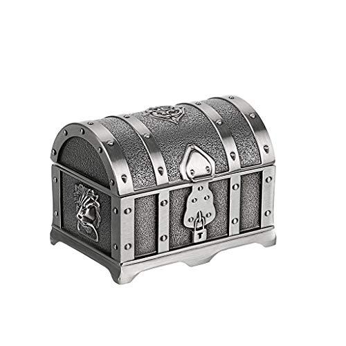 Caja De Joyería De Metal Vintage Tesore Thotinket Cofre, Accesorios Para El Hogar Caja De Almacenamiento Para Pendientes De Anillo De Smal Collar, Sostenedor De Regalo De Recuerdo Para Niñas Mujeres M