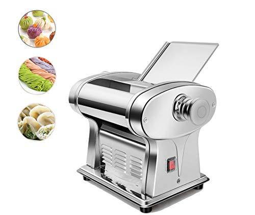 Hanchen Máquina de Hacer Pasta Eléctrica Cortadora de Pasta Fresca Automática para Hogar Cocina Restaurante (Ancho de Pasta: 2,5mm)