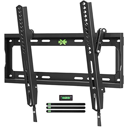 USX Mount TV Wall Mount Tilting Bracket for Most 26-55' Flat Screen LED, LCD, OLED, 4K TVs-TV Mount with VESA Up to 400x400mm-Weight Capacity Up to 99lbs, Low Profile, Space Saving for 16' Stud
