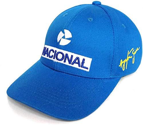 Fanxp Menoutdoor Kappen Ayrton Senna Baseball Cap Herren Mode Coole Stickerei Ayrton Senna Hüte Verstellbare Baumwolle Dad Caps