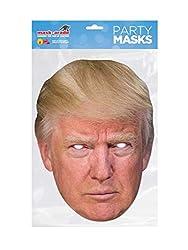 divertente maschera di cartone di Donald Trump