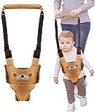 WIKEA Camminare Assistente Per Bambini, Cintura Bimbo Bretelle di Sicurezza per Bambino Sostegno Portatile, per Aiutarlo a Camminare Cintura Protettiva (Amarillo)