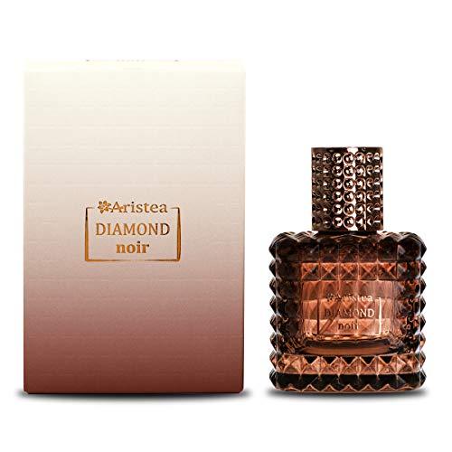 Aristea – Damen Eau de Parfum – Diamond Noir – orientalisch-blumiges Parfüm für Frauen – wahnsinniger Duft für Damen – Perfume for Women – 65 ml