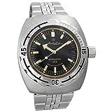 Vostok Amphibia 090679 - Reloj de buceo ruso para hombre (200 m,...
