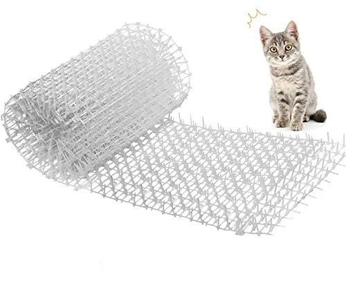 Kyrieval Cat Scat Mat Katzenabweisendes Anti-Katzen-Netzwerk Grabstopper Prickle Strip Home Spike Mat