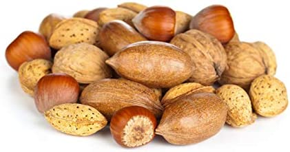 Anna and Sarah Premium Mixed Nuts in Shell California Jumbo Chandler Walnuts Georgia Extra Large product image