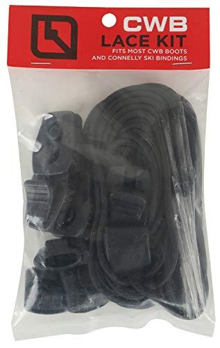 CWB wakeboard binding lace kit - black