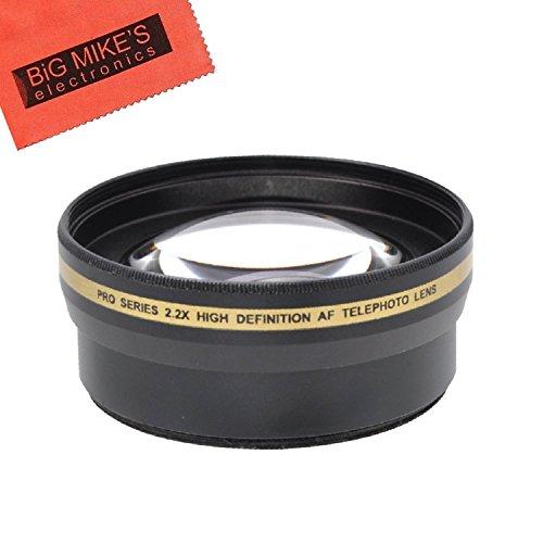 72mm 2.2X Telephoto Lens for Sony CyberShot DSC-RX10 III, DSC-RX10 IV Digital Cameras