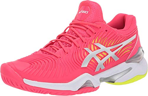 ASICS Women's Court FF 2 Tennis Shoes, 5.5M, Laser Pink/White