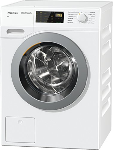 Miele WDB 030 WPS Waschmaschine / Frontlader / Energieklasse A+++ / 175 kWh/Jahr / 1400 UpM / 7 kg Schontrommel / Startvorwahl und Restzeitanzeige / Einfache Bedienung per Fingertipp mit DirectSensor