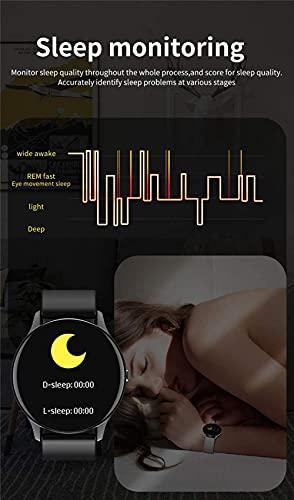 wyingj Reloj inteligente IP67 impermeable Bluetooth llamada SmartWatch pulsera inteligente-C