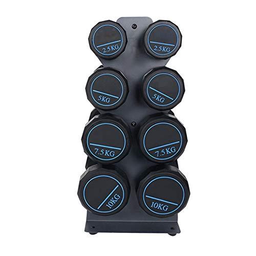 Schildeng Kurzhantel Rack Professional Hantelständer Hantelablage 396 Pfund Belastbarkeit 4 Tier Stand Organizer für Hantel Hex Gewichte Gummi Hanteln