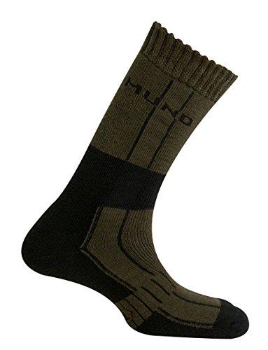 Mund Socks – Himalaya Wool Merino Thermolite, Kaki, Taille EU 42 – 45