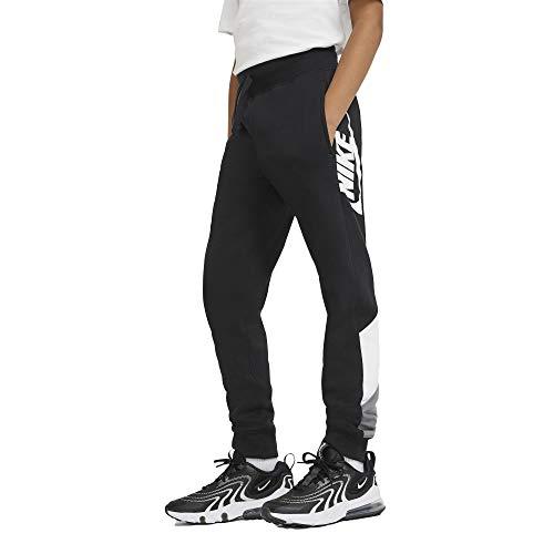 NIKE B NSW Core Amplify Pant Pantalones de compresin, Black/White/Smoke Grey/(White), XS para Niños