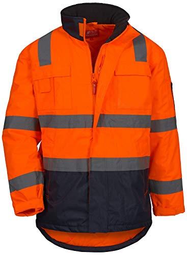 Nitras Motion TEX Viz 7144 Warnschutzjacke - EN 20471/343 - Orange - L