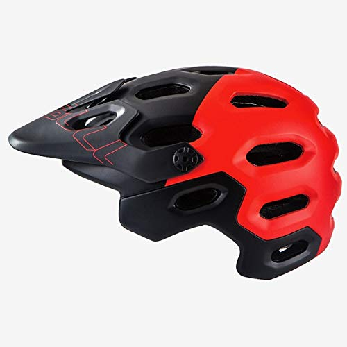 linfei Visera De Casco De Bicicleta Ultraligera para Hombre Enduro Dh/Am/XC/Off-Road Mountain...