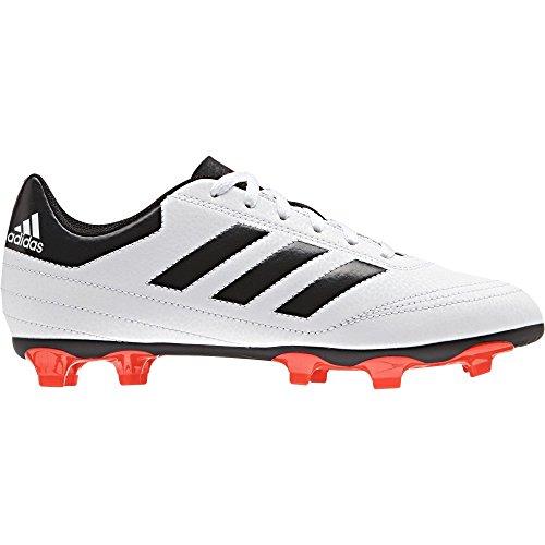 adidas Jungen Goletto VI FG J Fußballschuhe, Weiß(Ftwwht/Solred/Cblack), 30.5 EU