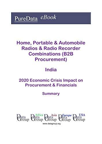 Home, Portable & Automobile Radios & Radio Recorder Combinations (B2B Procurement) India Summary: 2020 Economic Crisis Impact on Revenues & Financials (English Edition)